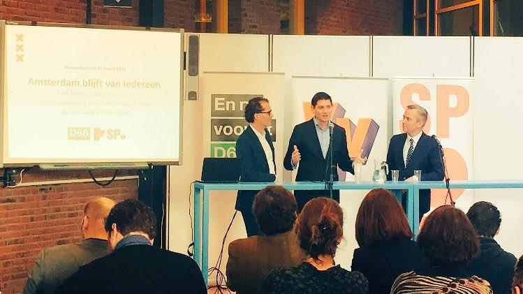 Amsterdam blijft van iedereen | D66 in Amsterdam